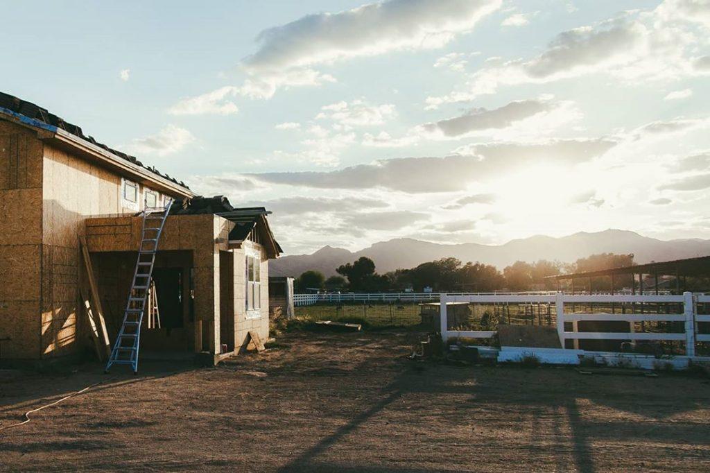 construction of farm home